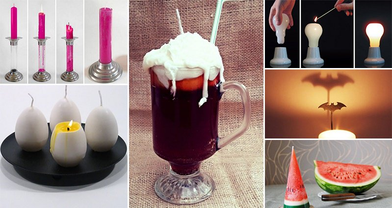 Creative Candle Designs