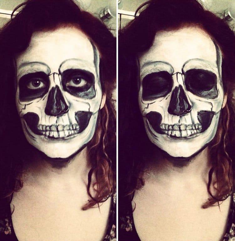 creepy-face-paint-skeleton