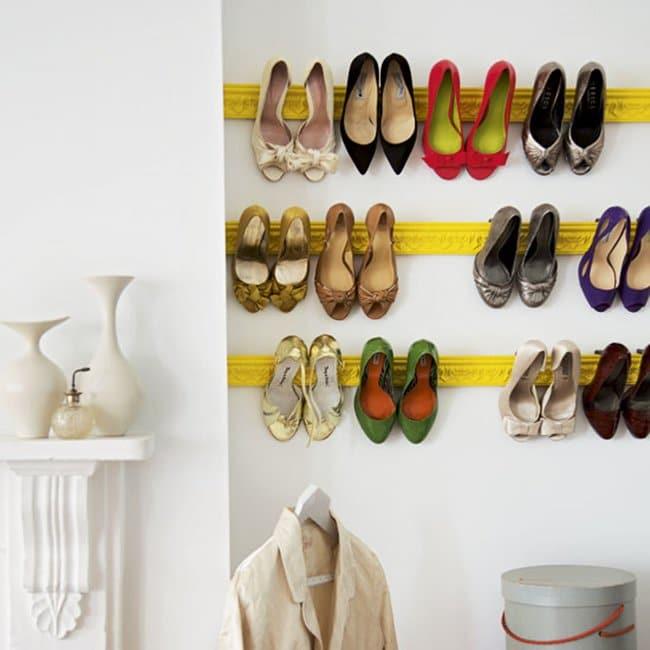 crown-moulding-shoe-rack