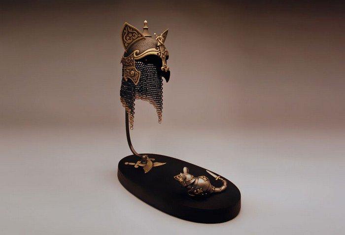 crusader mouse persian cat