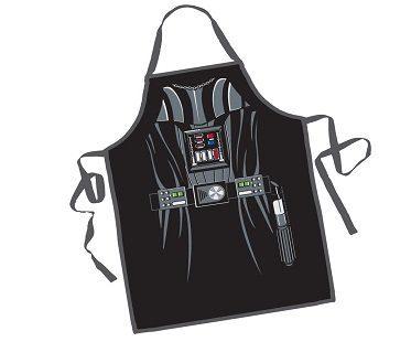 darth vader apron black
