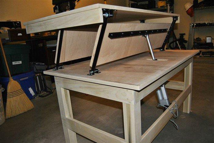 desk in motion