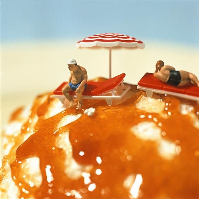 dessert beach men minimiam