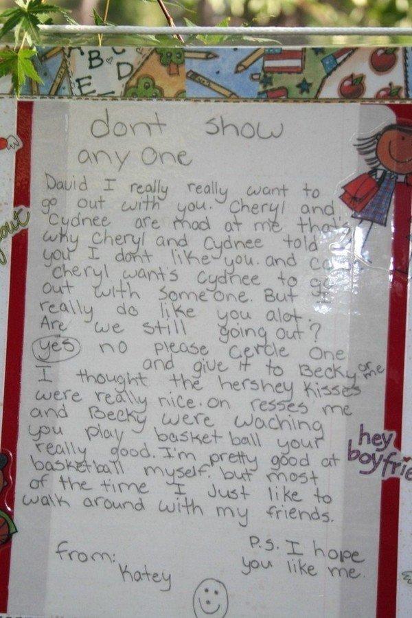 don't show letter