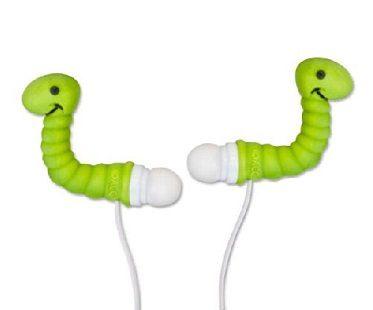 earworm earphones green