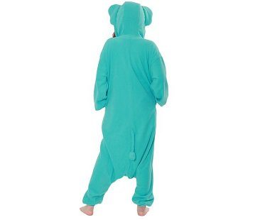 elephant onesie back