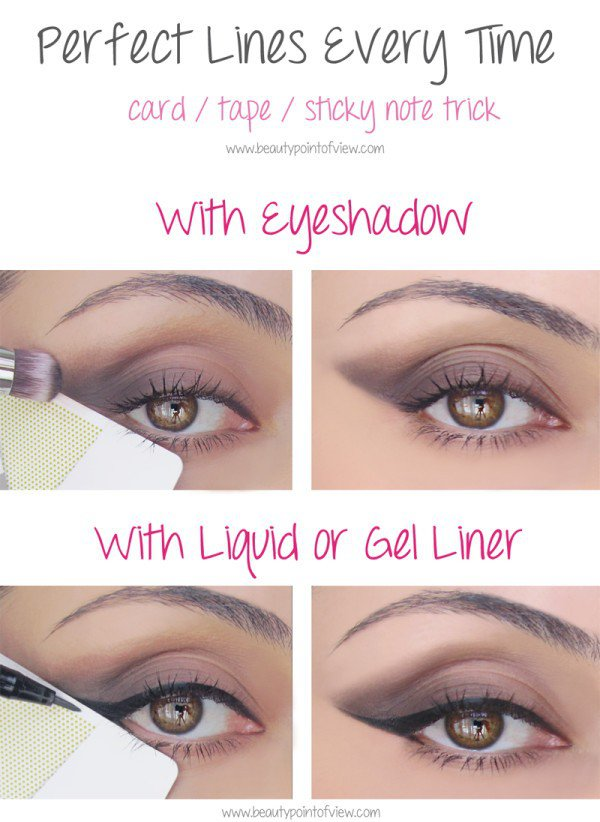 eye liner shadow