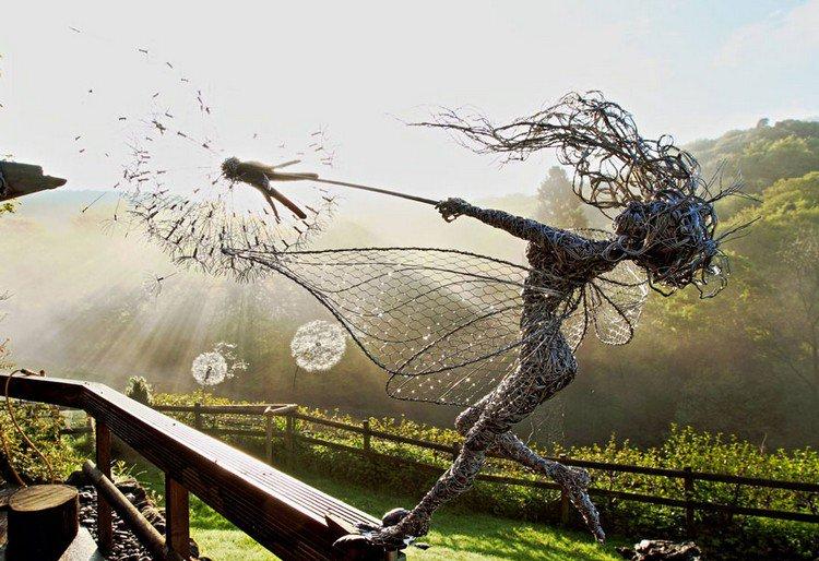 fairy dandelion fence