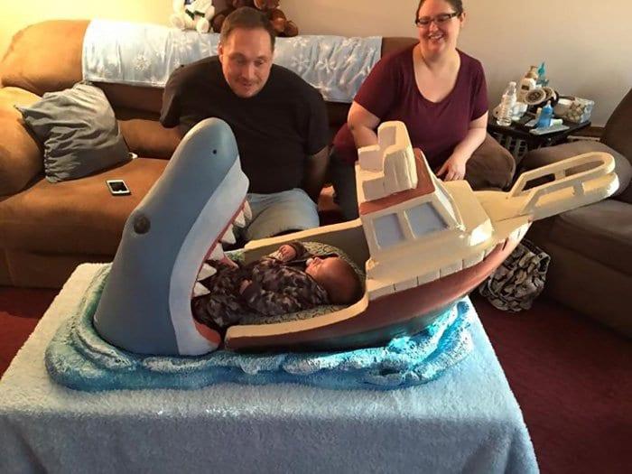 family baby jaws crib