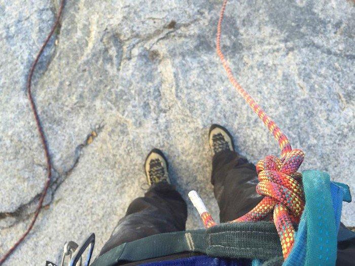feet ropes
