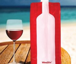 foldable wine bottle flask beach
