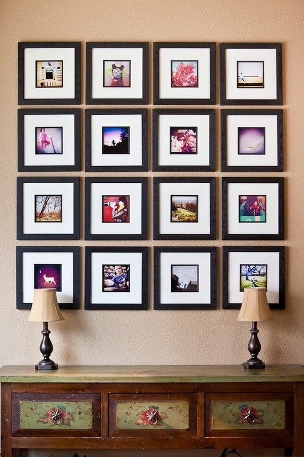 framed instagrams