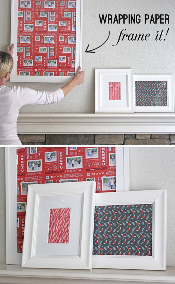 framing wrapping paper