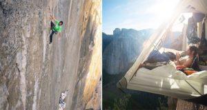 free climbing El Capitan