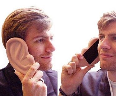 giant ear iphone case