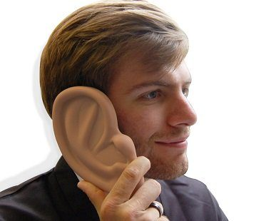 giant ear iphone case 4S 4