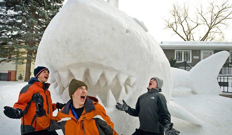 giant-snow-sculptures-bartz-brothers-shark-eat