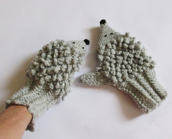 gloves-hedgehog