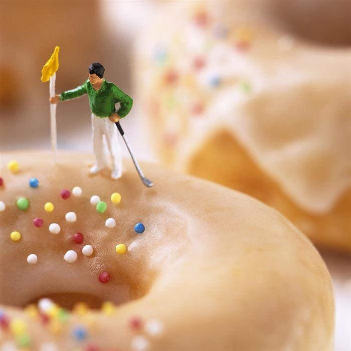 golfer donut minimiam