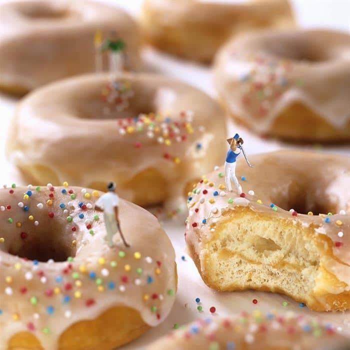 golfer donuts minimiam