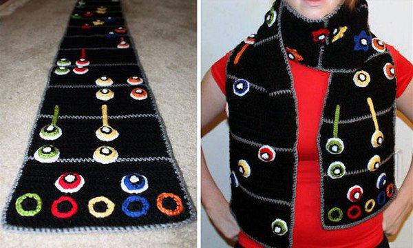 guitar hero scarf