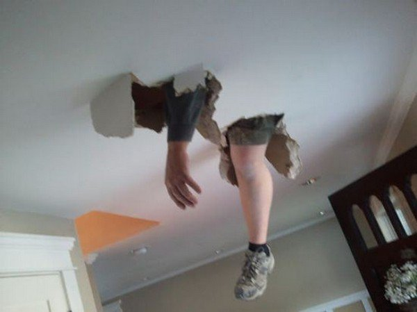 hand foot ceiling