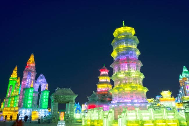 harbin-ice-and-snow-festival-at-night-colors