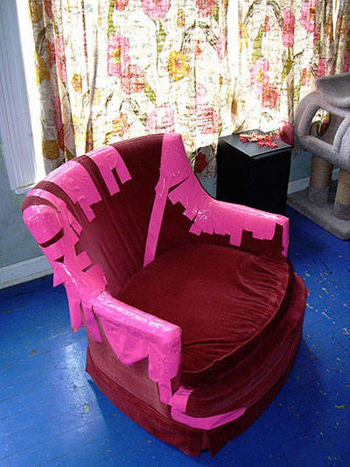 haunted parlor armchair