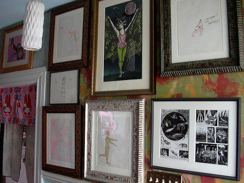 haunted parlor pictures