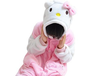 hello kitty baby onesie hood
