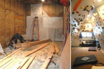 home indoor rock climbing