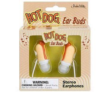 hot dog earphones box