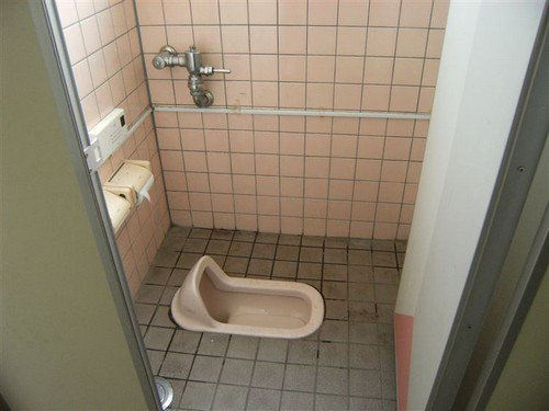 japan floor toilet