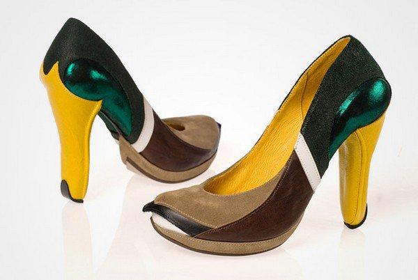 kobi levi mallard duck pair shoes
