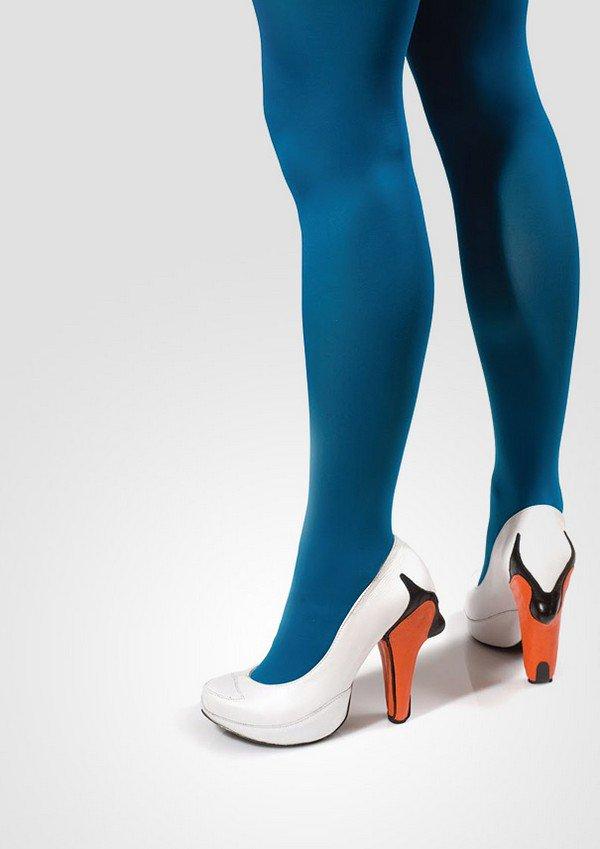 kobi levi swan shoes blue legs