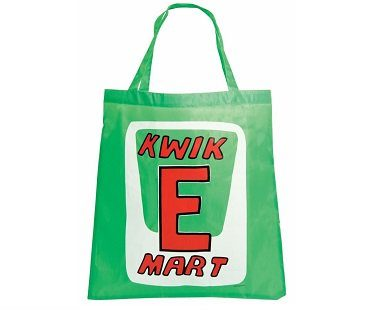 kwik e mart shopping bag green