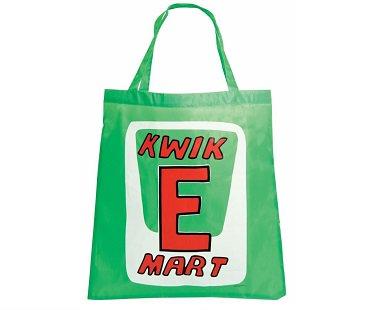 kwik e mart shopping bag green