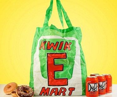 kwik e mart shopping bag