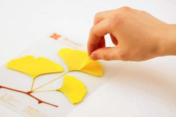 leaf-post-its