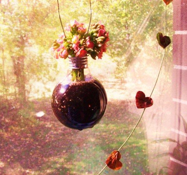 light-flowerpot