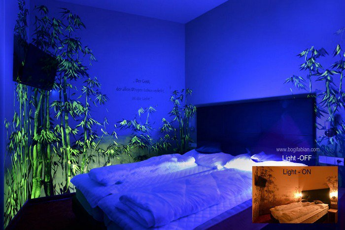 light on off glow room