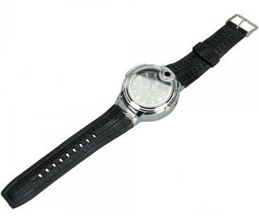 lighter watch leather strap