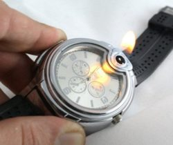 lighter watch mens