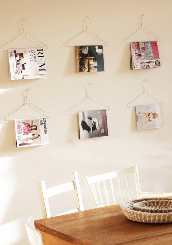 magazines hangers