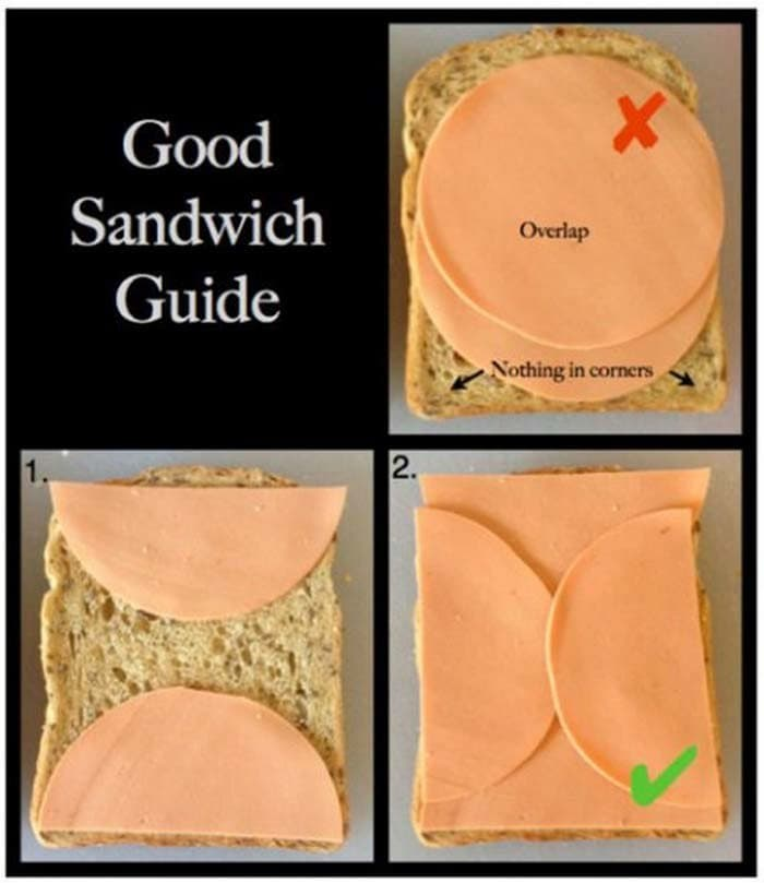 make good sandwiches