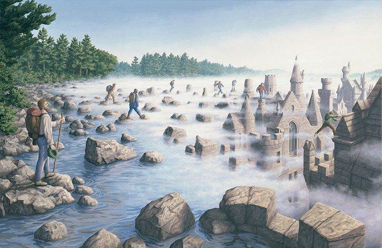 men river castles