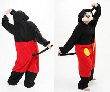 mickey mouse onesie back