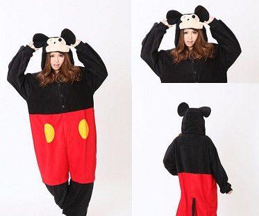 mickey mouse onesie hood