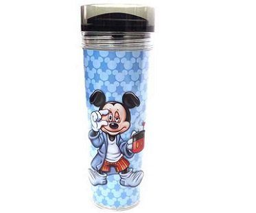 mickey mouse travel mug mornings are rough