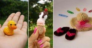 miniature crocheted creations